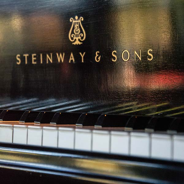 our Steinway and Sons piano